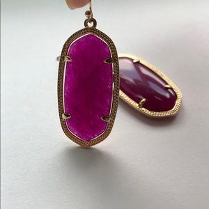 Purple/Magenta Kendra Scott Elle